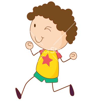 Simple child cartoon